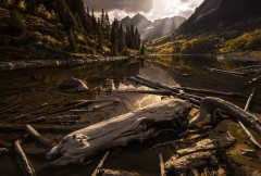 COLORADO MAROON BELLS FALL SPLENDOR