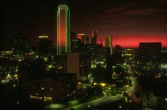 DALLAS night skylinet