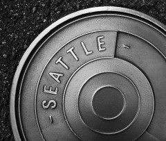 SEATTLE (a) manhole cover