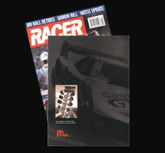 Full Page No Fear Ad In Racer Magazine