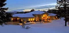 Home Exterior Winter