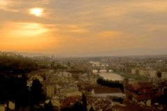 ITALY FLORENCE Morningscape