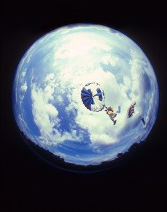 REENTRY FROM SPACE SKYDIVING