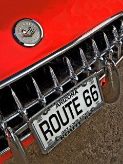 ROUTE 66 plates